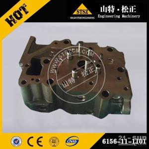 6156-11-1101缸盖总成小松PC400-7挖掘机SA...