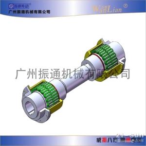 振通传动JSJ接中间轴型蛇形弹簧联轴器/支持加工定做