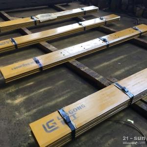 厦工龙工山工柳工一顶四耐磨装载机刀板,铲车刀板、工程机械刀板 中频淬火
