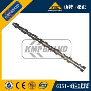 6D125发动机配件 PC450-8凸轮轴6151-41-1112  小松挖掘机纯正配件