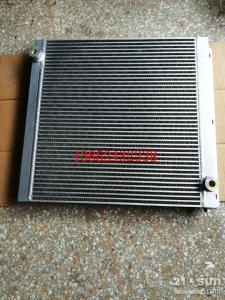 徐工压路机液压油散热器