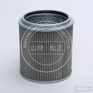 小松PC400-7挖掘机原厂液压油回油滤芯配件22B-60-11160山特松正大量库存