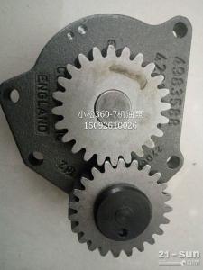 小松挖掘机配件 PC360-7机油泵
