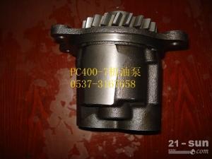 小松挖掘机配件 PC400-7机油泵