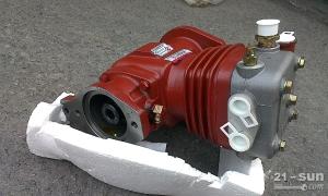 徐工XS263钢轮压路机上柴动力SC8DK280Q3发动机配...