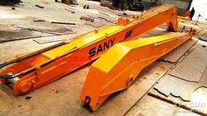 厂家直销 三一225  18米加长臂 挖掘机     加长臂 三一   岩石臂    可定制
