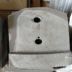 山东方圆WBZ600水稳拌合站叶片搅拌刀厂家