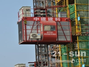 中建建科施工升降机/SC200/200D施工电梯