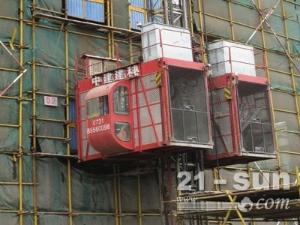 中建建科低速施工升降机/SC200/200D施工电梯