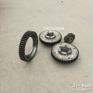 徐工YZ18JC振动压路机行走齿轮 双联齿轮