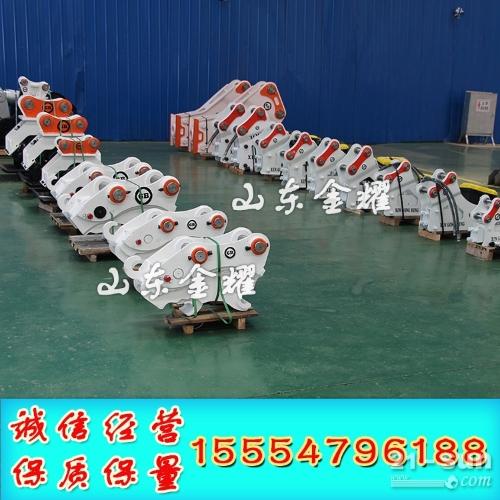 液压快速链接器 山东金耀 挖掘机快速连接器 厂家一站式服务