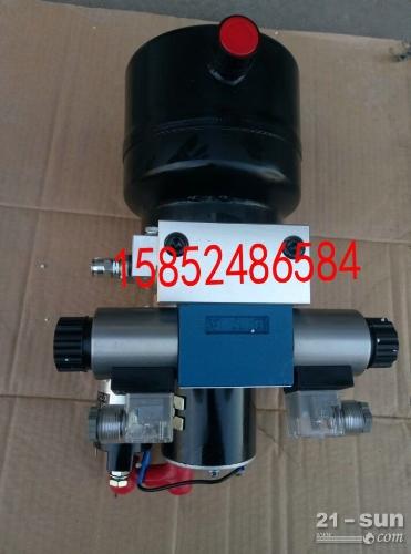 徐工压路机液压泵站 后机罩升降机