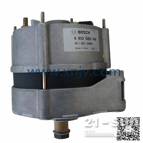 康明斯K1500E发电机 启动机 日兴NIKKO
