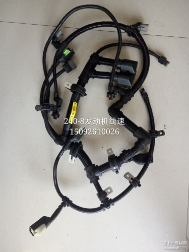 小松挖掘机配件 PC240-8发动机线束