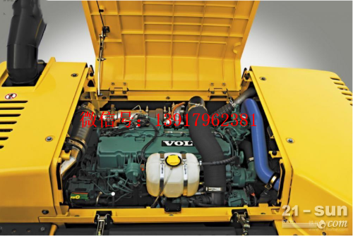 沃尔沃950发动机罩盖,沃尔沃950发动机消声器