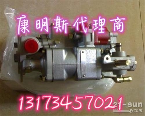 柳工B230推土机喷油泵前端漏油换4296362油泵总成