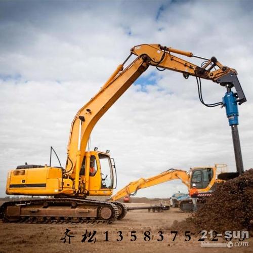 挖改螺旋钻机参数 挖改螺旋打桩机技术参数 挖改螺旋打桩机