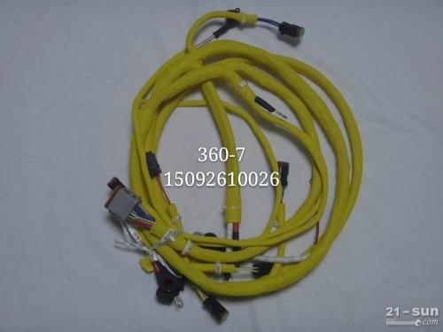 小松PC300-7发动机线束 挖掘机配件