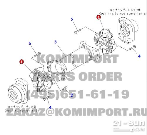 小松  自卸车HD  十字轴  561-20-61100