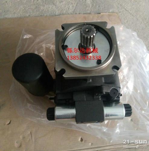 柳工振动压路机液压泵 振动泵 马达 维修