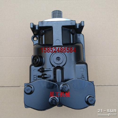 山推22吨压路机液压振动泵 震动马达 工作泵 配件 维修