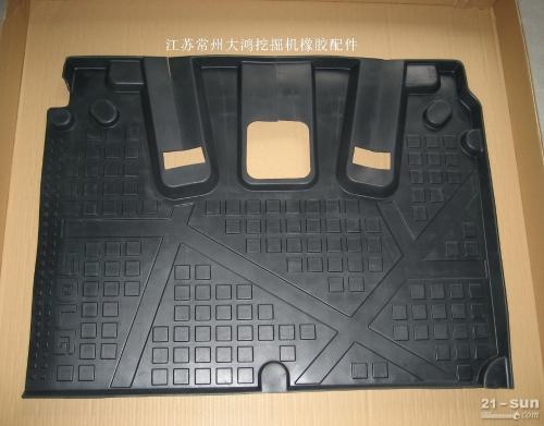 临工挖掘机驾驶室橡胶地板垫 2631000892 /地板垫/地板胶/橡胶垫