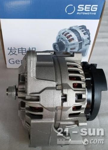 0124655009奔驰曼D2866L发电机