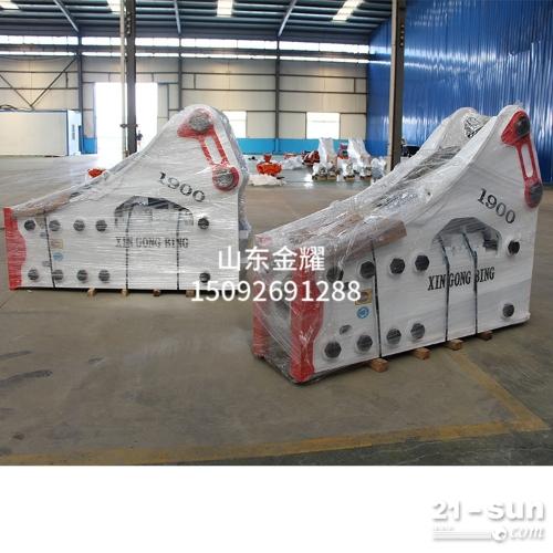 大型挖机破碎设施  大型挖掘机蓄能器破碎锤装置