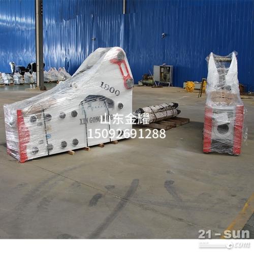 345高强度钢材铸造挖掘机专用炮头  大型破碎锤