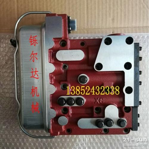 压路机电子档变速箱电磁阀总成 阀体
