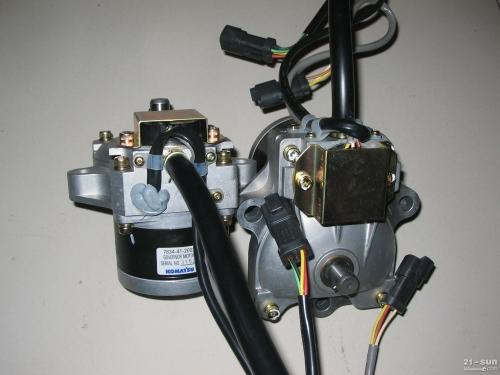 小松挖掘机配件pc200-8油门马达