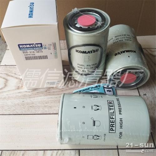 小松600-319-3610 机油燃油液压油空气滤清器