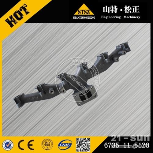 PC200-8排气歧管 6754-11-5110小松挖掘机