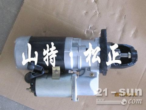 小松WA380-3启动马达6743-82-6820,小松装载机配件—济宁山特松正