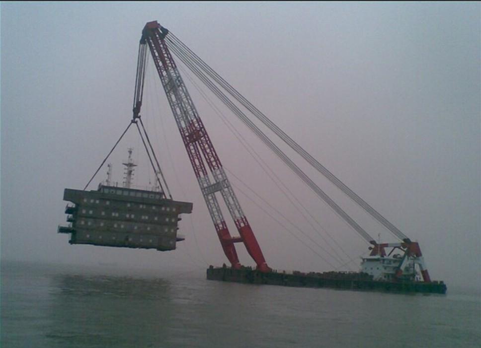供应浮吊起重船图片