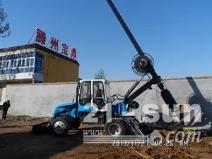 滕州宝鼎轮式旋挖钻机