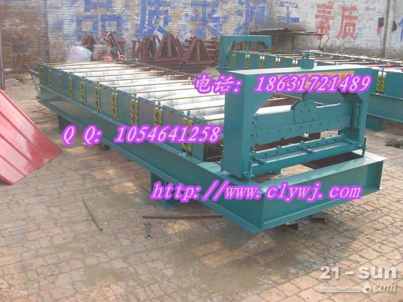 压瓦机 900单板机 彩钢设备压瓦机厂家 供应信