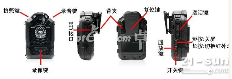 集成送话器功能通过专用连接线与对讲机连接