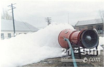 推车式泡沫灭火装置 半固定式泡沫灭火装置
