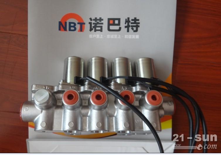 小松130-7电磁阀组图片