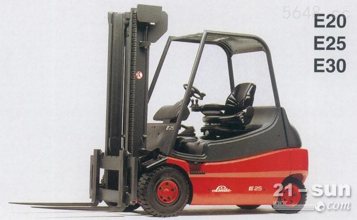 林德叉车维修 林德e30四轮电动平衡重叉车维修