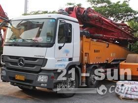 江苏三翼 出售2012年出厂的52米泵车 手续齐全 车况好 奔驰底盘