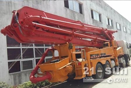 江苏三翼 出售沃尔沃底盘42米三一泵车 手续齐全