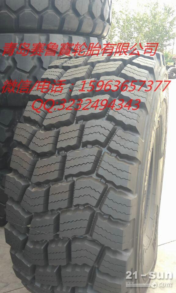 新花纹26.5r25雪地卡车轮胎