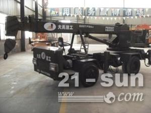大禹建工4吨自制轮胎起重机