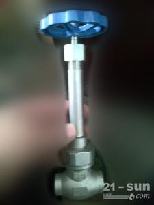 DN50带法兰低温截止阀| 液氧液氮截止阀报价 LNG截止阀