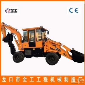 轮式挖掘装载机多功能挖掘装载机低价直销