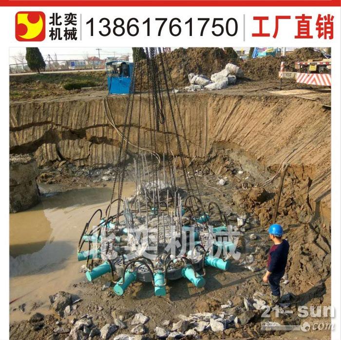 无锡破桩机厂家直销 挖机配打桩机设备
