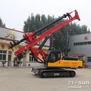 15米履带式机锁杆旋挖钻机