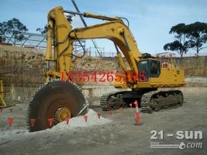 开山锯挖机改圆盘锯  挖掘机锯石机国产液压锯